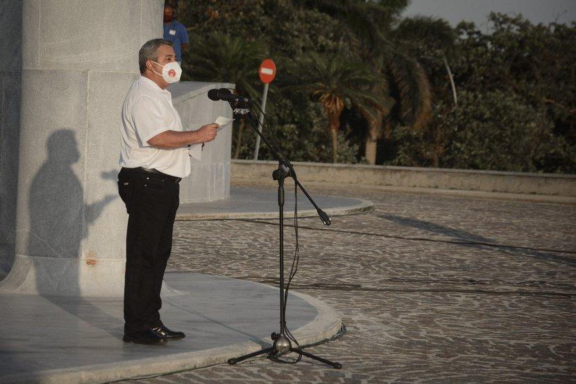 Mensaje de felicitación de Ulises Guilarte de Nacimiento a los trabajadores cubanos