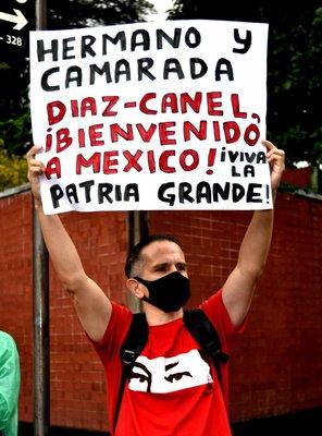 En México también se pone corazón a Cuba